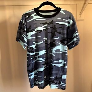 Colored Camo T-shirt